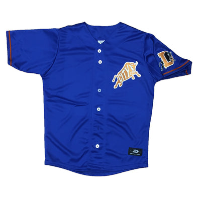 Durham Bulls Youth Alternate Bull City Jersey Replica