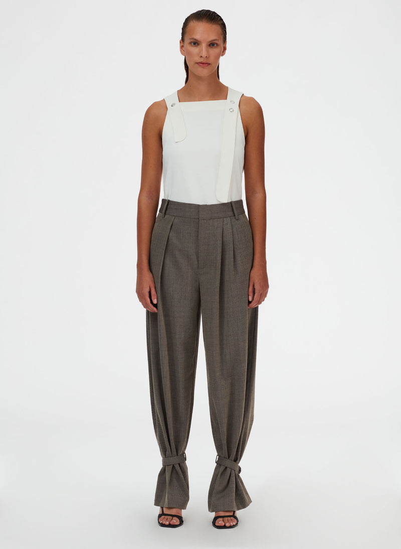 Luka Suiting Stella Pleat Pant Luka Suiting Stella Pleat Pant