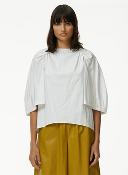 Eco Poplin Cape Top Eco Poplin Cape Top
