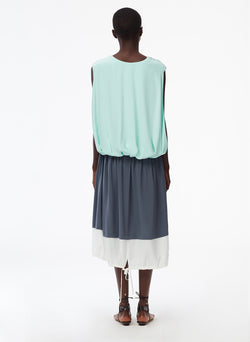 Eco Silk Cape Dress Eco Silk Cape Dress