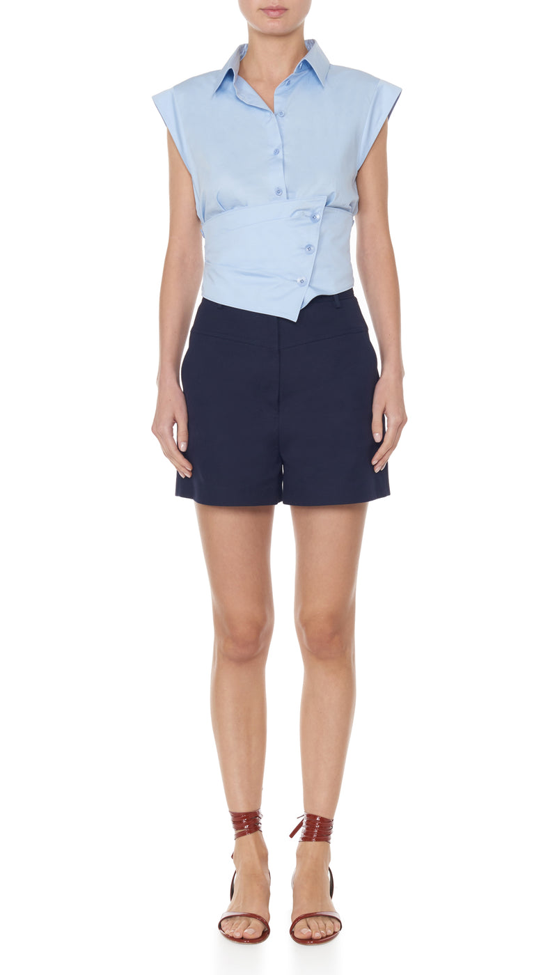 Margaux James Short Dark Navy-1
