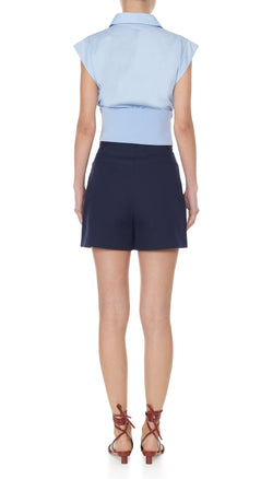 Margaux James Short Dark Navy-3
