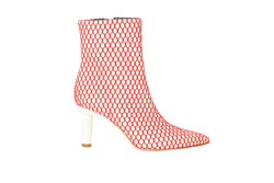 Mason Booties White/Red Multi-1