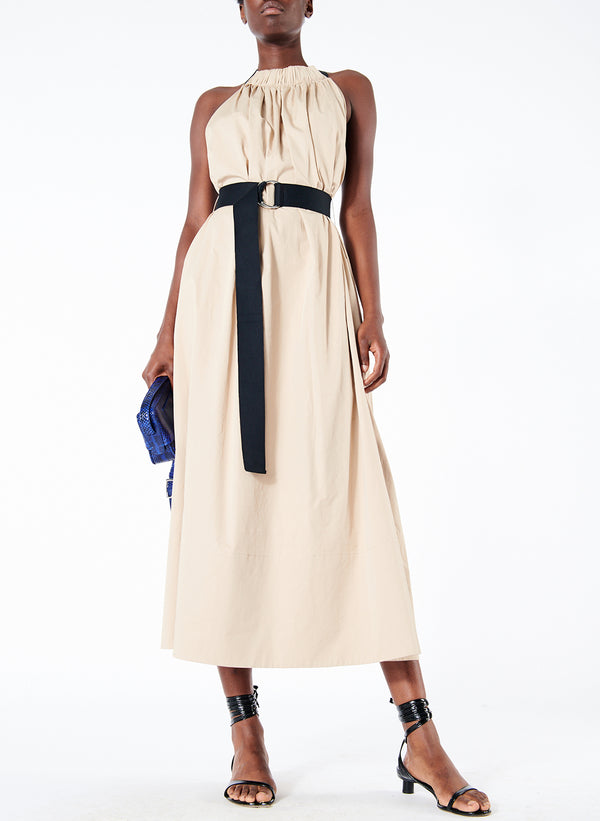Long Trapeze Dress