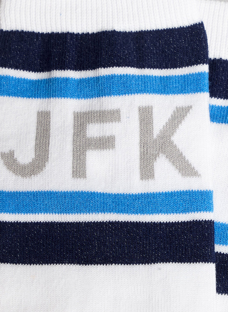 Airport Socks JFK Multi-14
