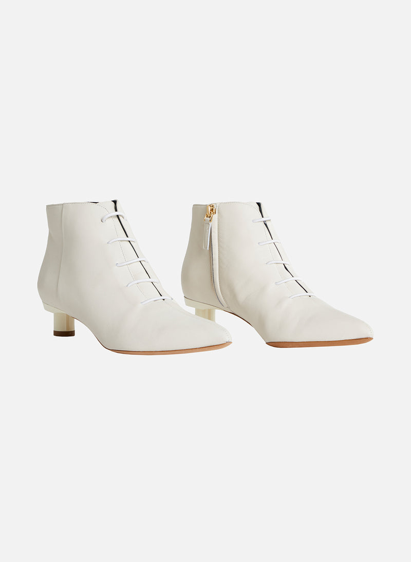 Asher Bootie Ivory/White Multi-12