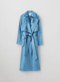 Duchesse Tech Satin Trench Duchesse Tech Satin Trench