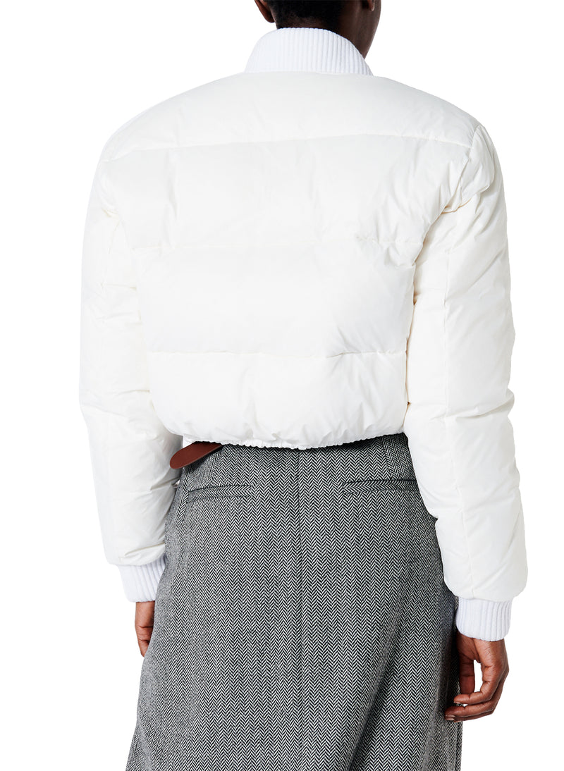 Gus Cropped Reversible Jacket White-2