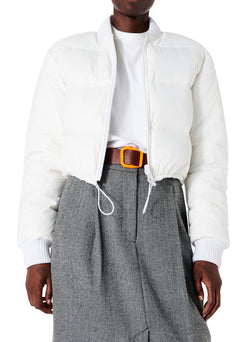 Gus Cropped Reversible Jacket White-1