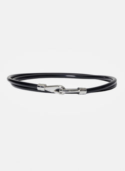 Rubber Tube Belt Black-14