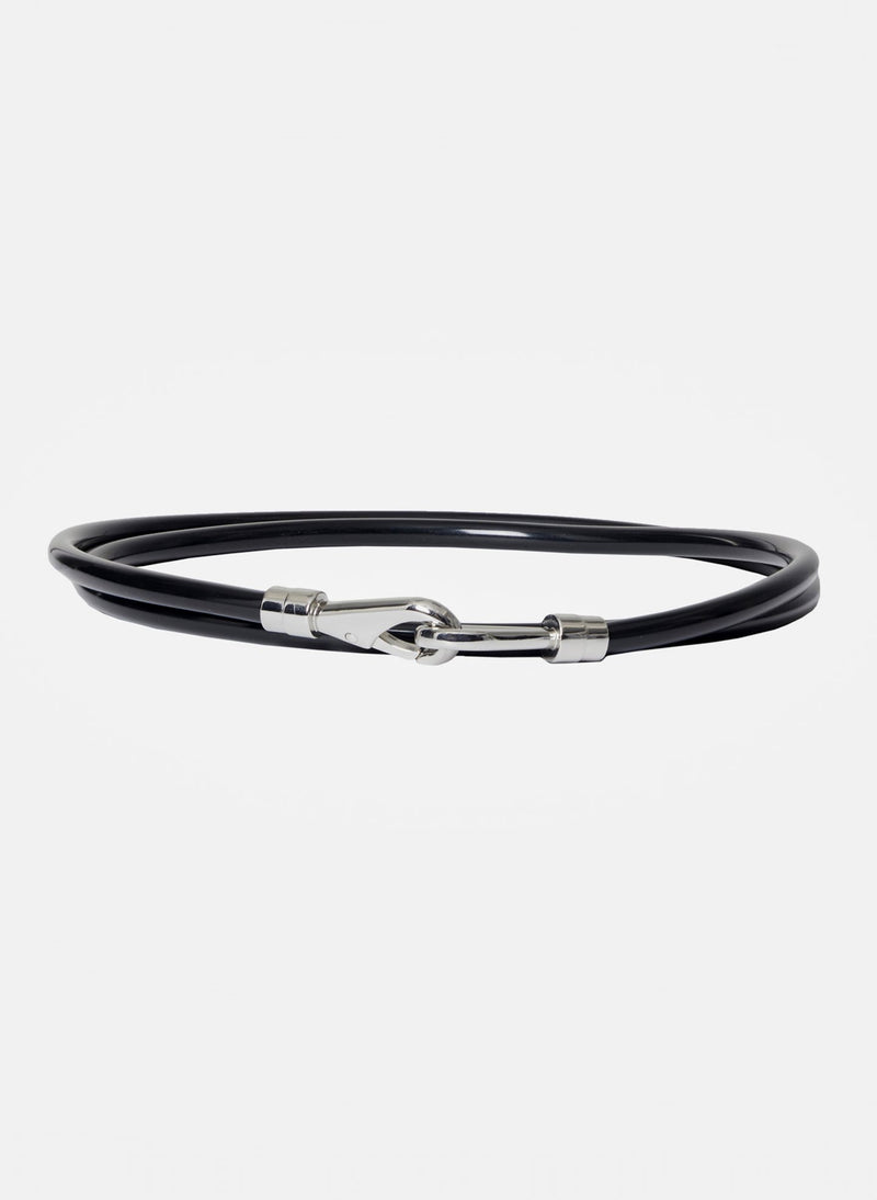 Rubber Tube Belt Black-3