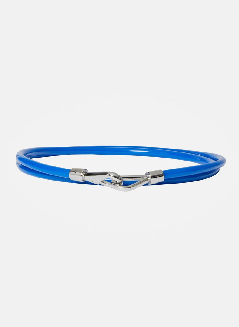 Rubber Tube Belt Blue-10