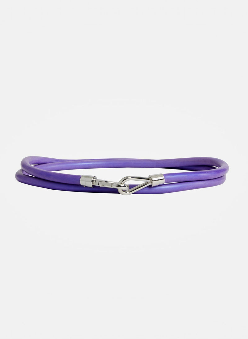 Rubber Tube Belt Purple-13