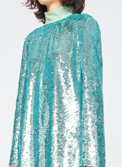 Sequin Dress Celadon-6