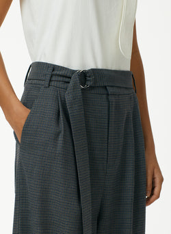 Auguste Houndstooth Stella Ankle Length Sculpted Pant Auguste Houndstooth Stella Ankle Length Sculpted Pant