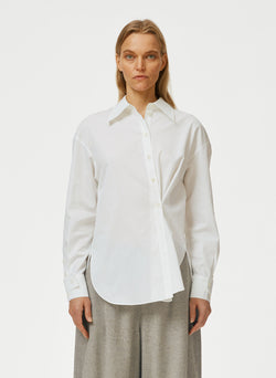 Miles Shirting Split Cuff Oversized Shirt Miles Shirting Split Cuff Oversized Shirt