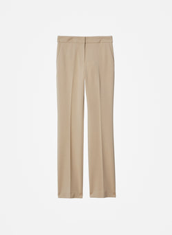 Bond Stretch Knit Jamie Bootcut Pant Oatmeal-8