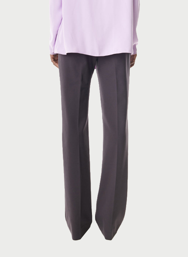 Bond Stretch Knit Jamie Bootcut Pant Plum Brown-10