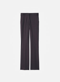 Bond Stretch Knit Jamie Bootcut Pant Plum Brown-16