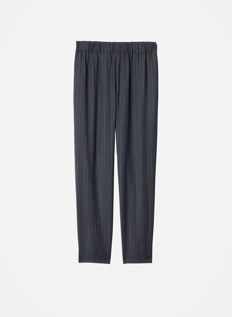 Pinstripe Pull On Pant Grey Multi-8