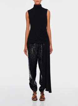 Sequin Pant Black/Navy Multi-1