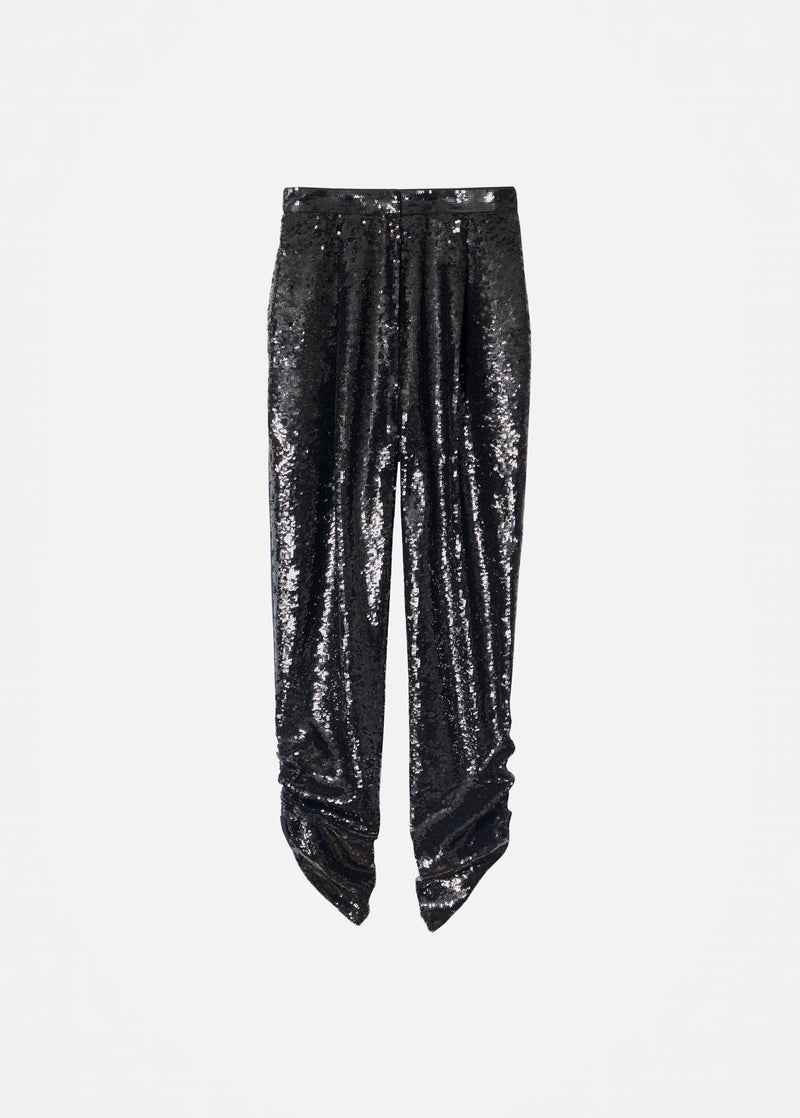 Sequin Pant Black/Navy Multi-6