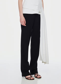 Tropical Wool Sebastian Pant Black-2