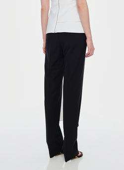 Tropical Wool Sebastian Pant Black-3