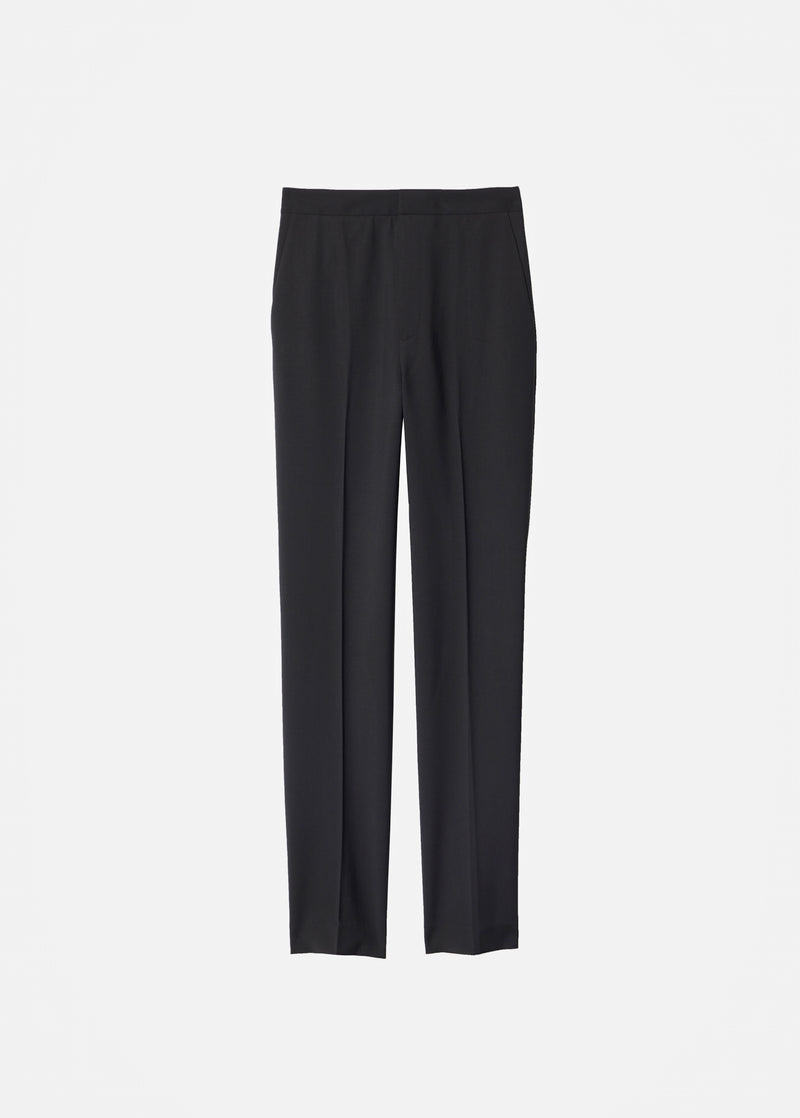 Tropical Wool Sebastian Pant Black-8