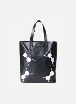 Tibi Le Client Tote Bag Black Multi-2