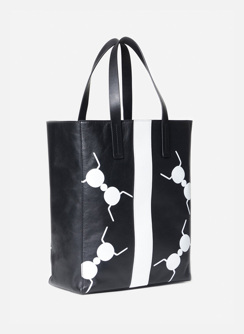 Tibi Le Client Tote Bag Black Multi-3