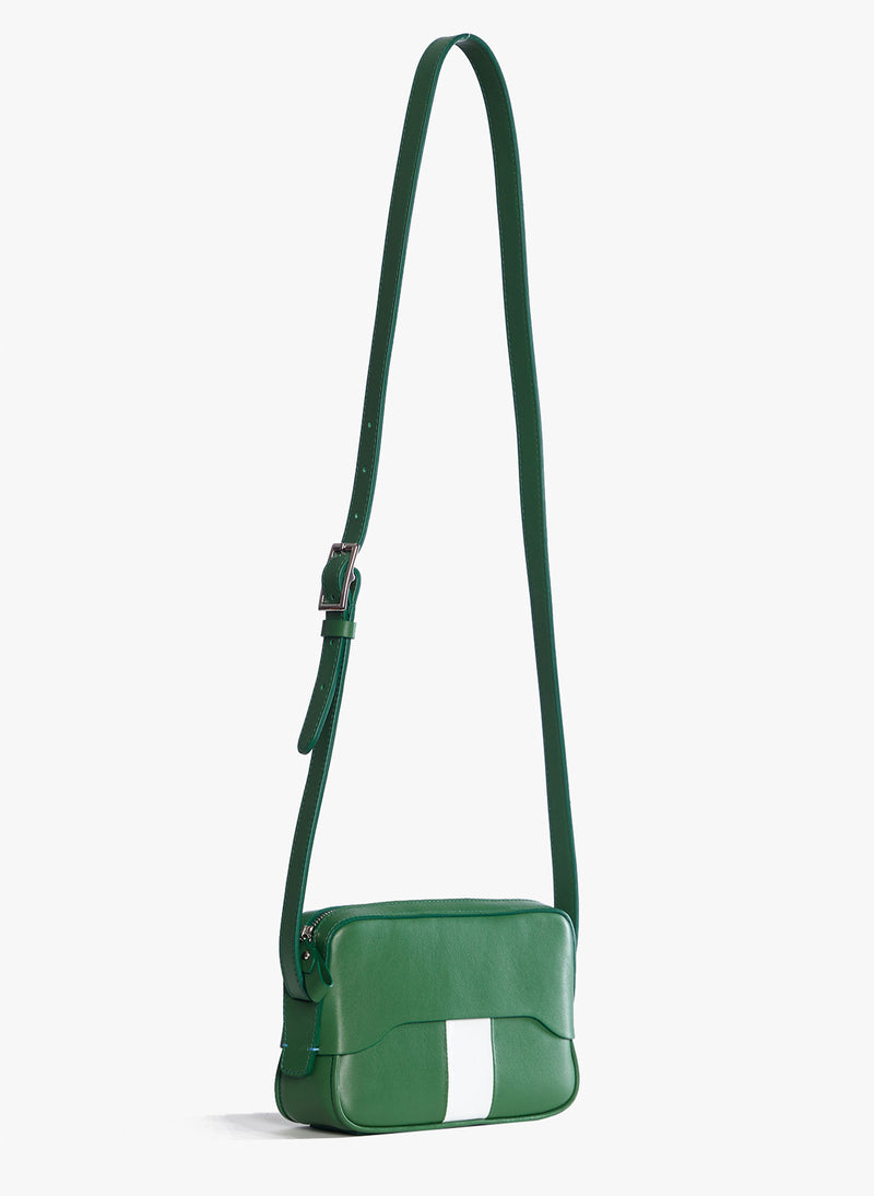 Tibi Bébé Bag Green/White Multi-2