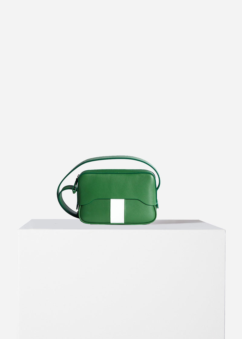Tibi Bébé Bag Green/White Multi-1