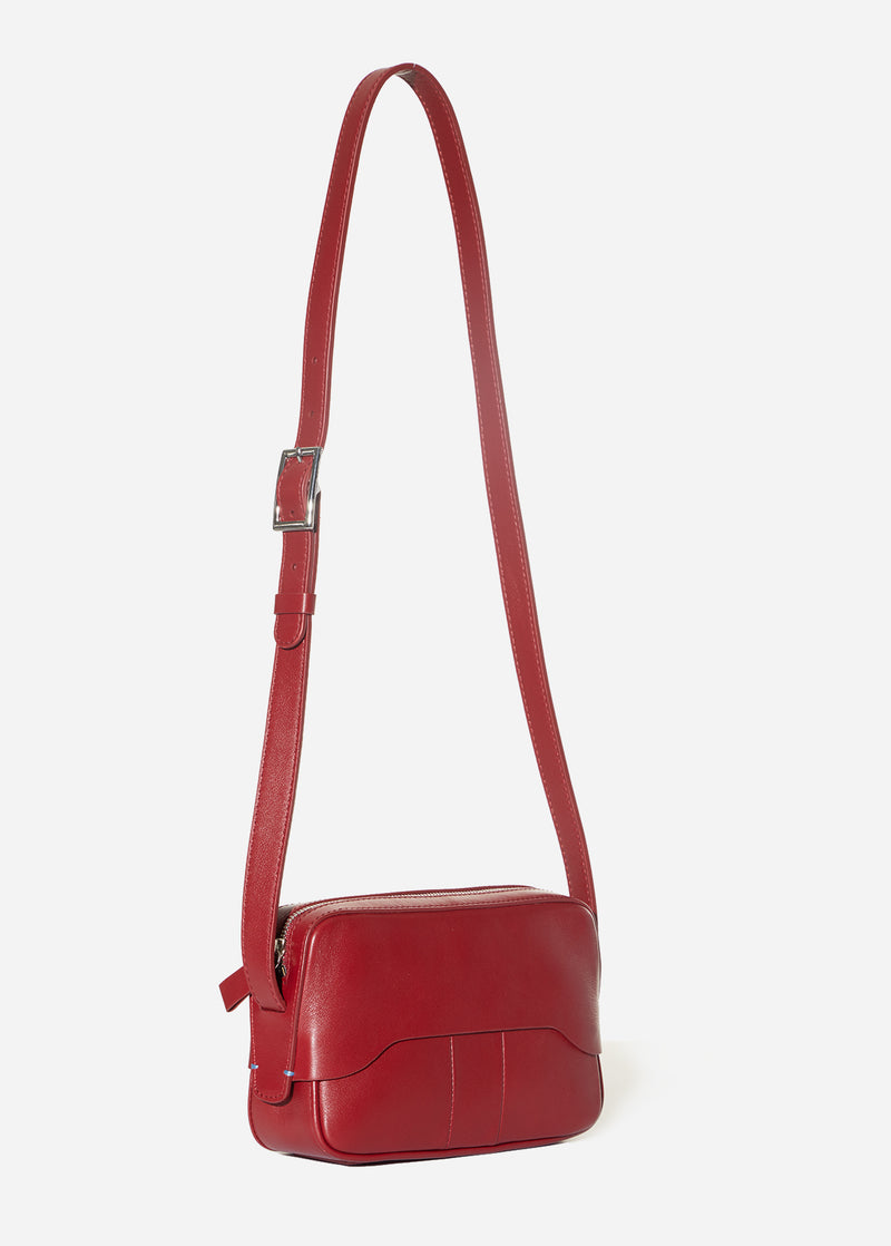 Tibi Bébé Bag Red-7