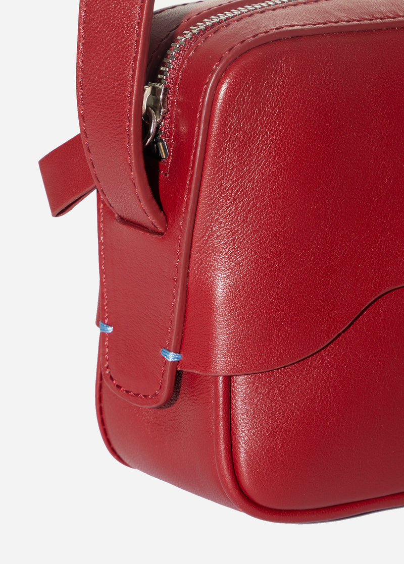 Tibi Bébé Bag Red-9