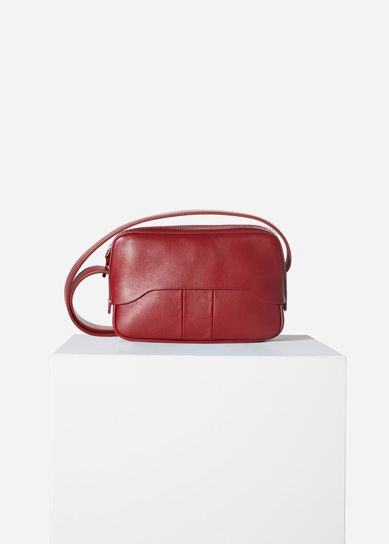 Tibi Bébé Bag Red-8