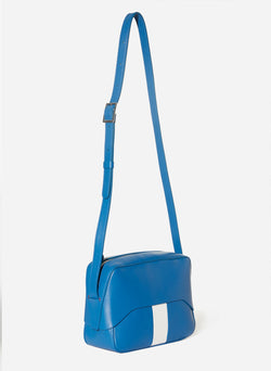 Tibi Garcon Bag Blue/White Multi-13