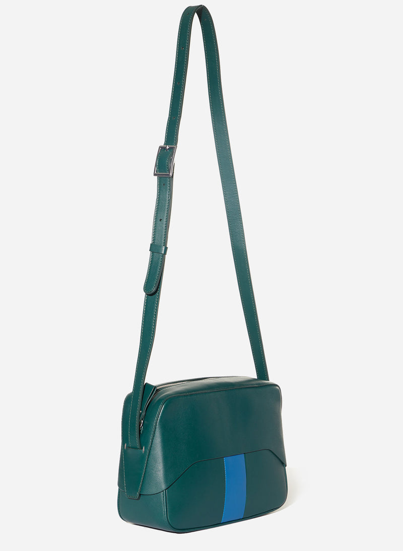 Tibi Garcon Bag Green/Blue Multi-1
