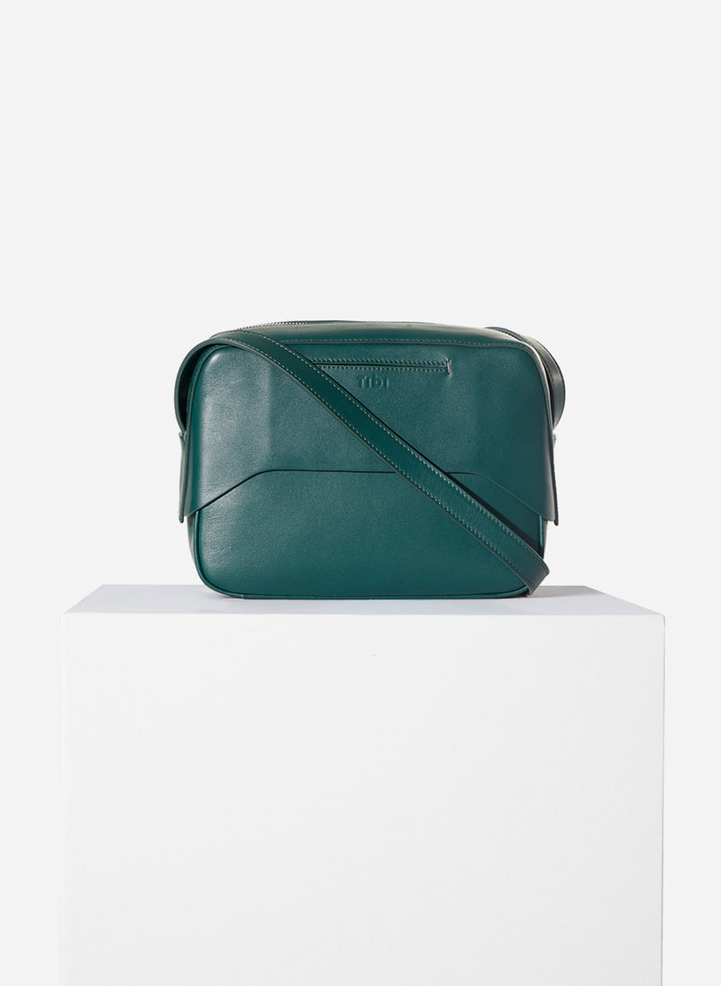 Tibi Garcon Bag Green/Blue Multi-2