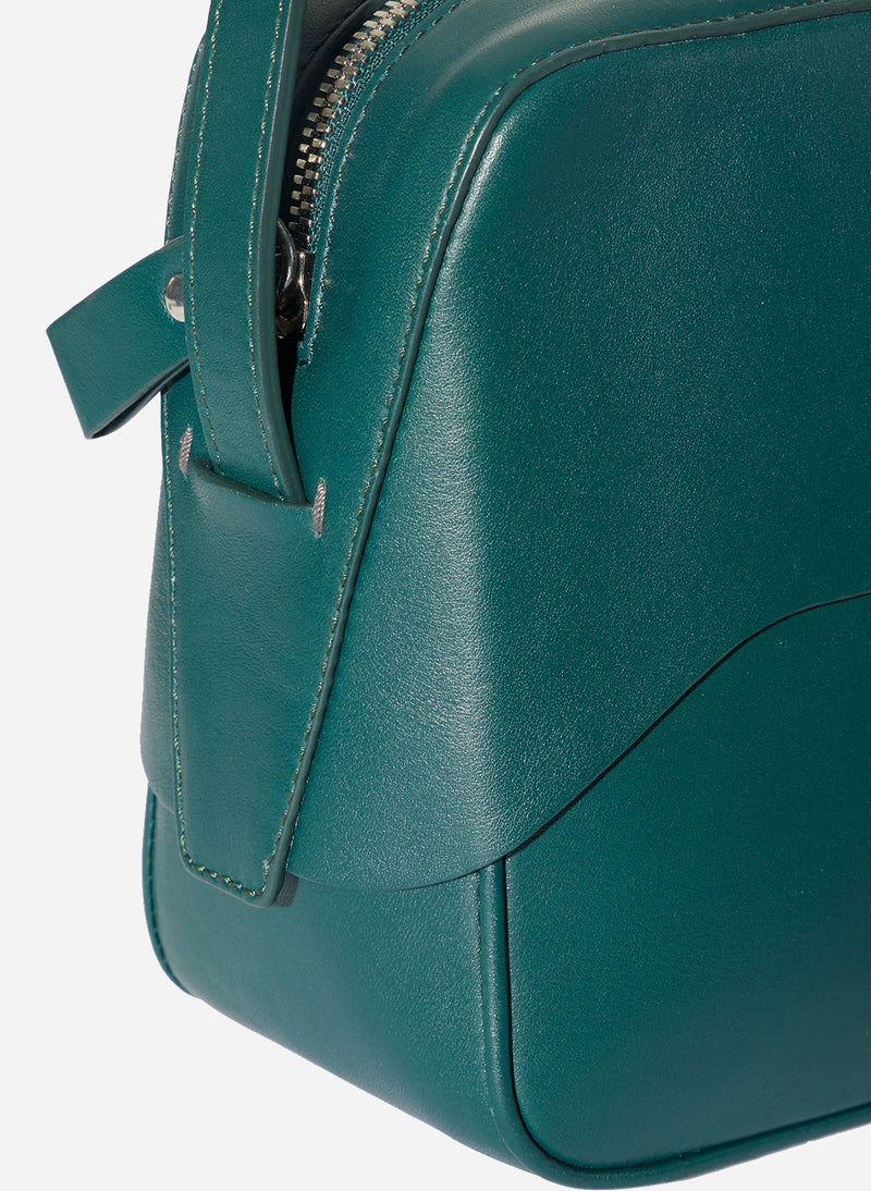 Tibi Garcon Bag Green/Blue Multi-3