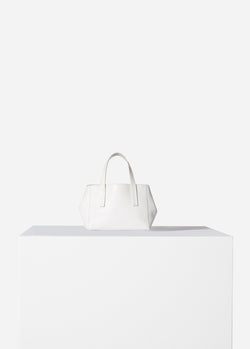 Tibi Le Client Mini Bag Off White-1