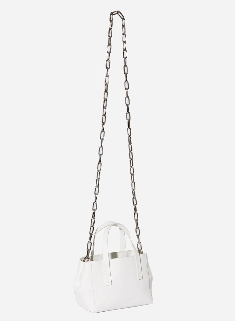 Tibi Le Client Mini Bag Off White-2