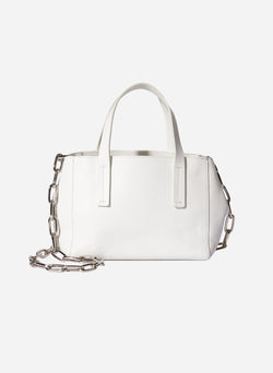Tibi Le Client Mini Bag Off White-3