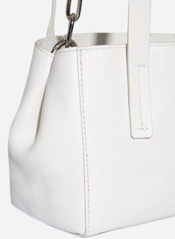 Tibi Le Client Mini Bag Off White-4