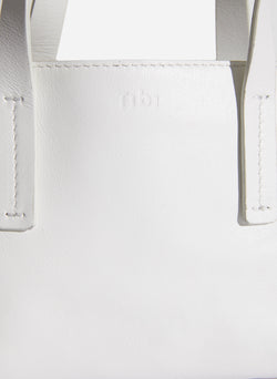 Tibi Le Client Mini Bag Off White-5