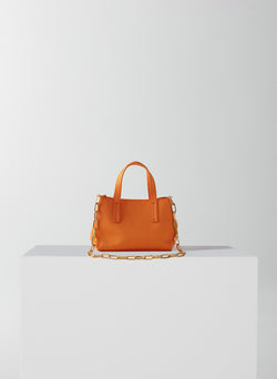Le Client Mini Bag Tangerine-7