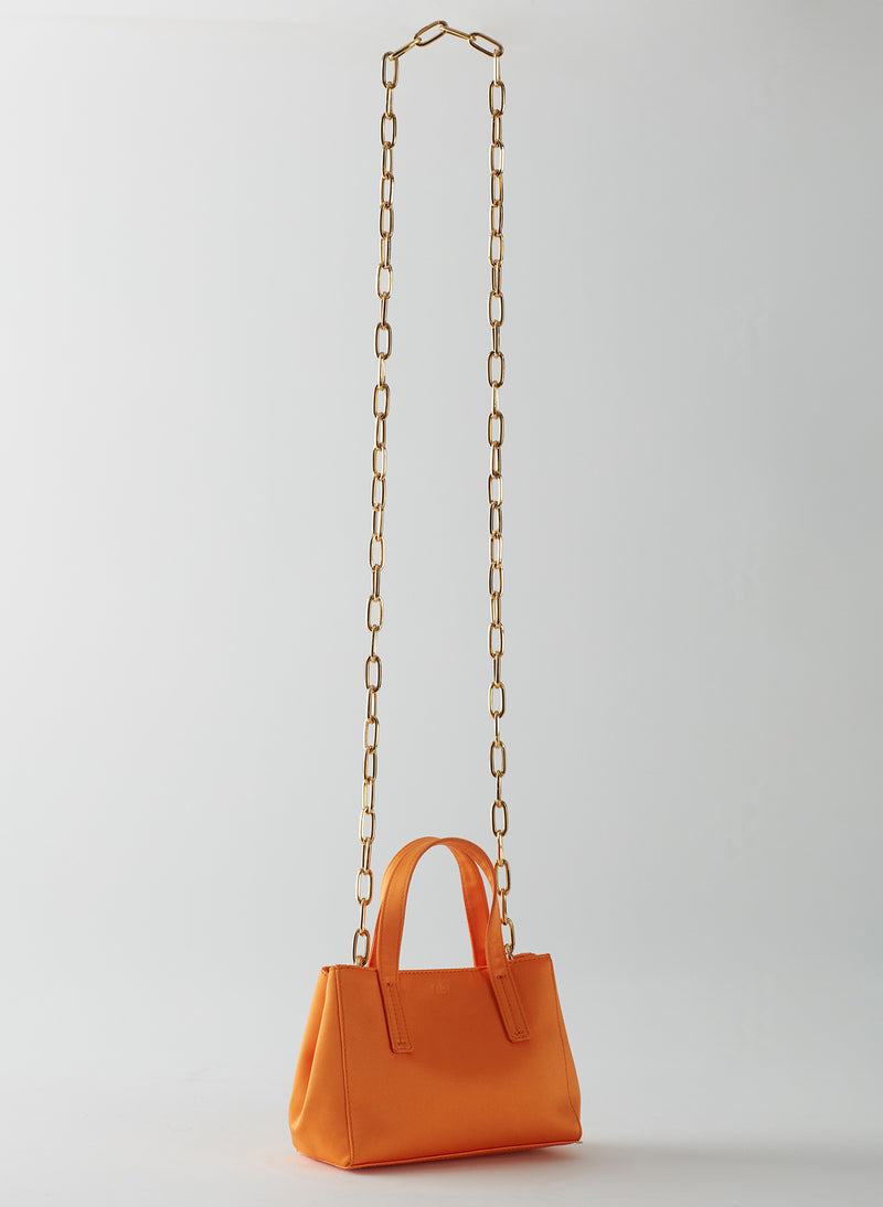Le Client Mini Bag Tangerine-8