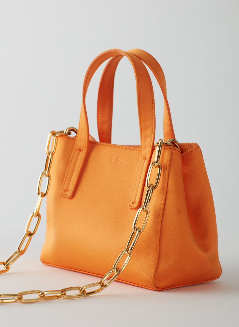 Le Client Mini Bag Tangerine-10