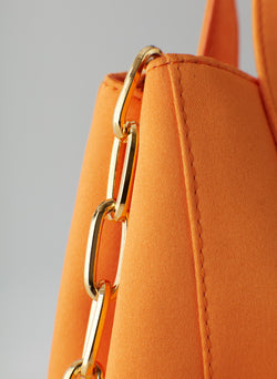 Le Client Mini Bag Tangerine-12