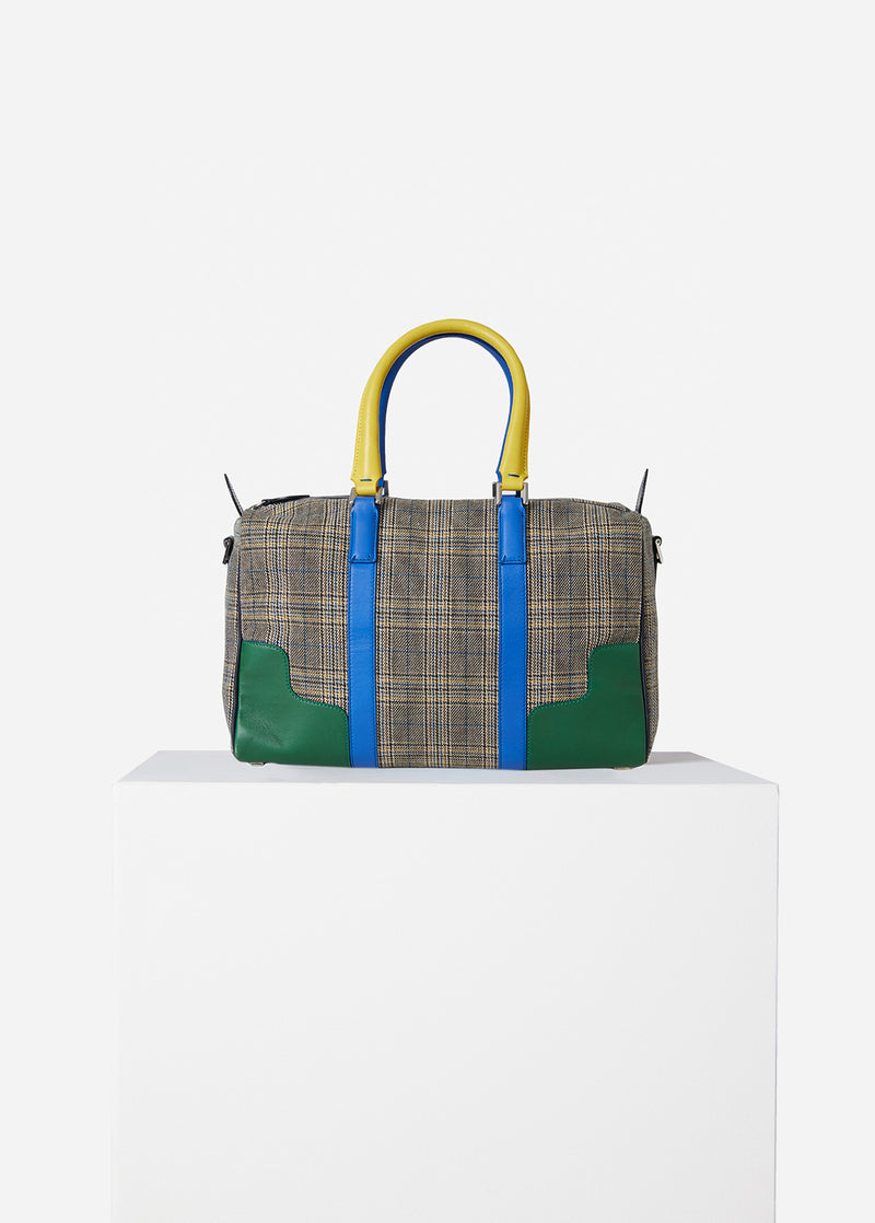 Tibi Mercredi Bag Plaid Multi-1